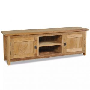 Solid Teak TV Cabinet