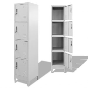 Locker Cabinet with 4 Compartments