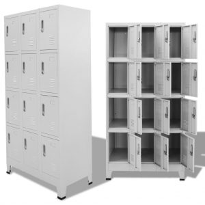 Locker Cabinet with 12 Compartments