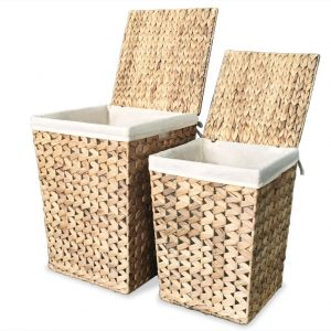 Hyacinth 2 Set Laundry Basket Set