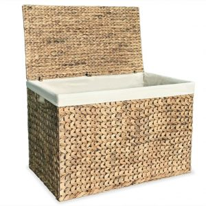 Hyacinth Large Laundry Basket