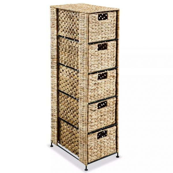 Hyacinth 5 Basket Storage Unit