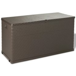 420L Garden Storage Box - Brown