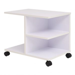 Rolling Shelf - White