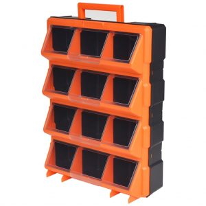 Portable Wall-Mountable Toolbox