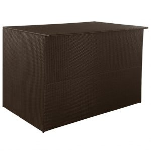 Large 1500L Outdoor Storage Box - Brown