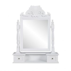 Vanity Makeup Tabletop Rectangular Mirror