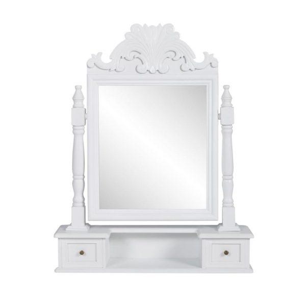 Vanity Makeup Tabletop Rectangular Mirror