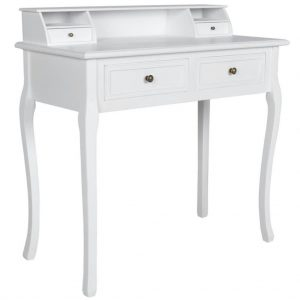 Modern Vanity Makeup Table - White