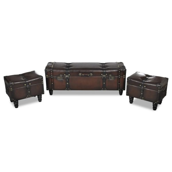 Storage Bench Set
