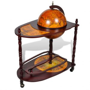 Freestanding Globe Wine Stand