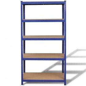 Storage Shelf Garage Storage Organizer Blue