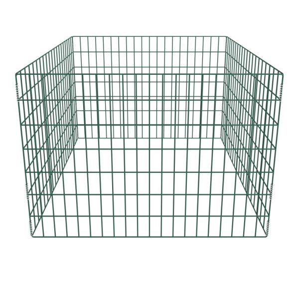 Square Mesh Garden Composter 100 x 100 x 70 cm