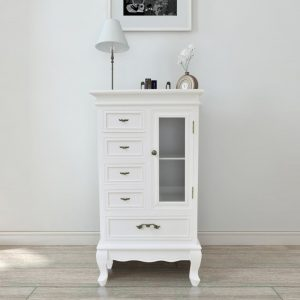 5 Drawer Cabinet - White