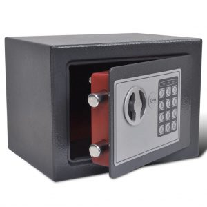 vidaXL Electronic Digital Safe 23 x 17 x 17 cm