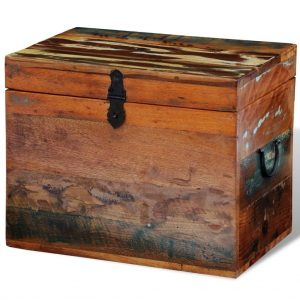 Reclaimed Storage Box - Solid Wood