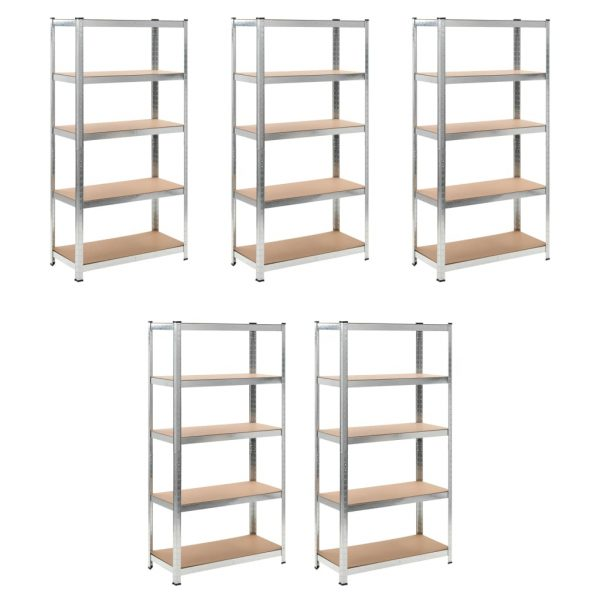 Heavy-duty Storage Rack - Set of 5