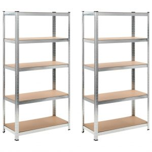 Heavy-duty Storage Rack 2 pcs