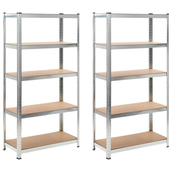 Heavy-duty Storage Rack 2 pcs