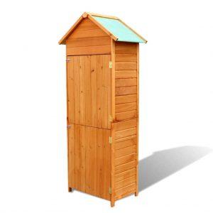Outdoor Wooden Storage Cabinet