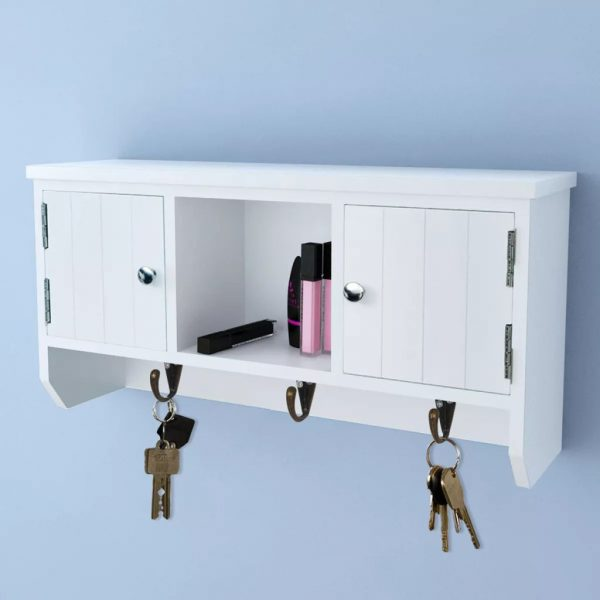 Entryway Wall Cabinet - White