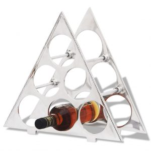6 Bottle Aluminium Wine Stand