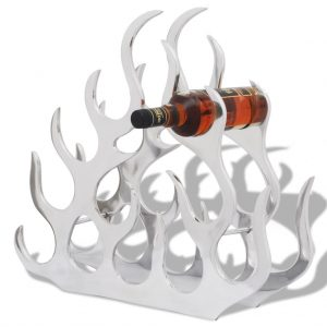 11 Bottle Aluminium Wine Stand