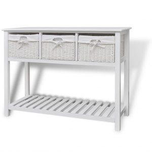White Storage Sideboard