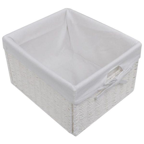 9 Basket Storage Cabinet – White