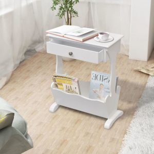 Magazine Rack - White