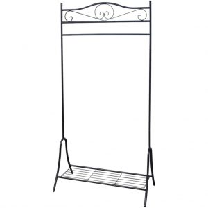 Steel Clothing Rack - Black