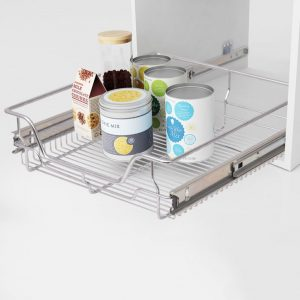 Pull-Out Wire Basket Drawers - 500mm