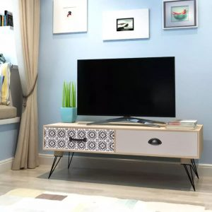 TV Side Table - Brown
