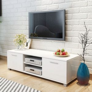 120cm High-Gloss TV Unit