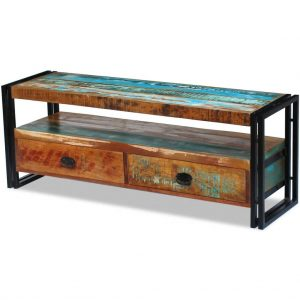 TV Cabinet - Solid Reclaimed Wood