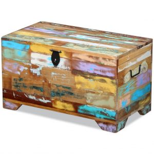 Storage Chest - Solid Reclaimed Wood