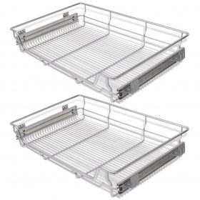 Pull-Out Wire Basket Drawers