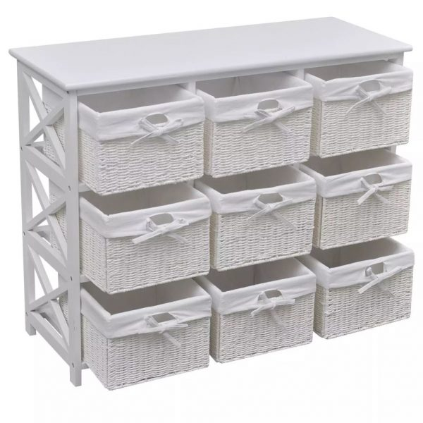 9 Basket Storage Cabinet