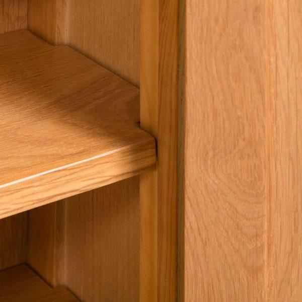 Storage Cabinet - Solid Oak