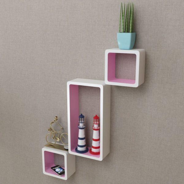 Floating Wall Shelves Set