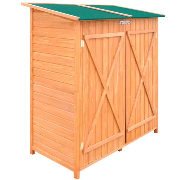 Wooden Garden Tool Shed