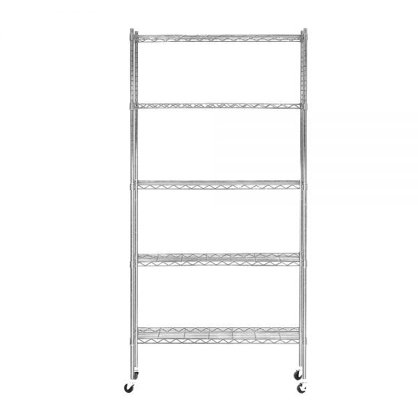 5 Tier Wire Shelving Rack