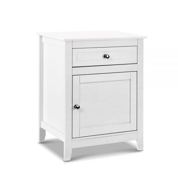 Bedside Cabinet - White