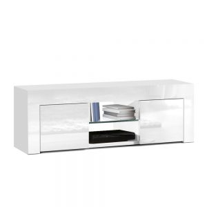 130cm High Gloss Entertainment Unit