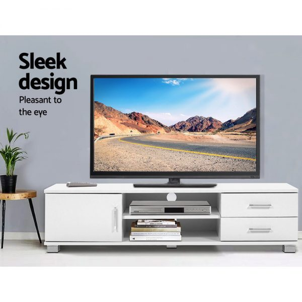 120cm Entertainment Unit - White