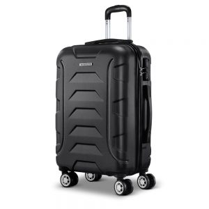 "Wanderlite 20"" Luggage Trolley - Black"