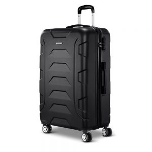 "Wanderlite 28"" Luggage Trolley - Black"
