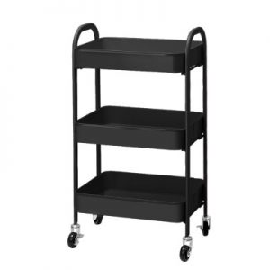 3 Tier Rolling Storage Trolley