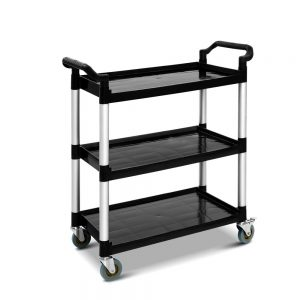Small Service Cart - Black