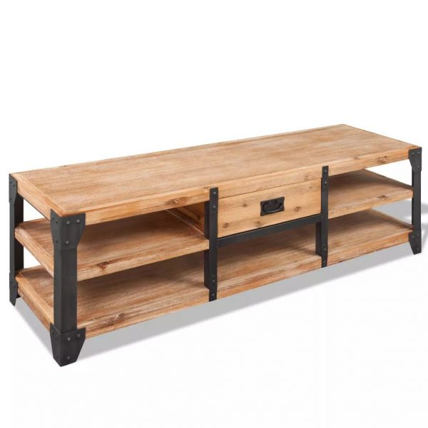 Solid Acacia TV Stand